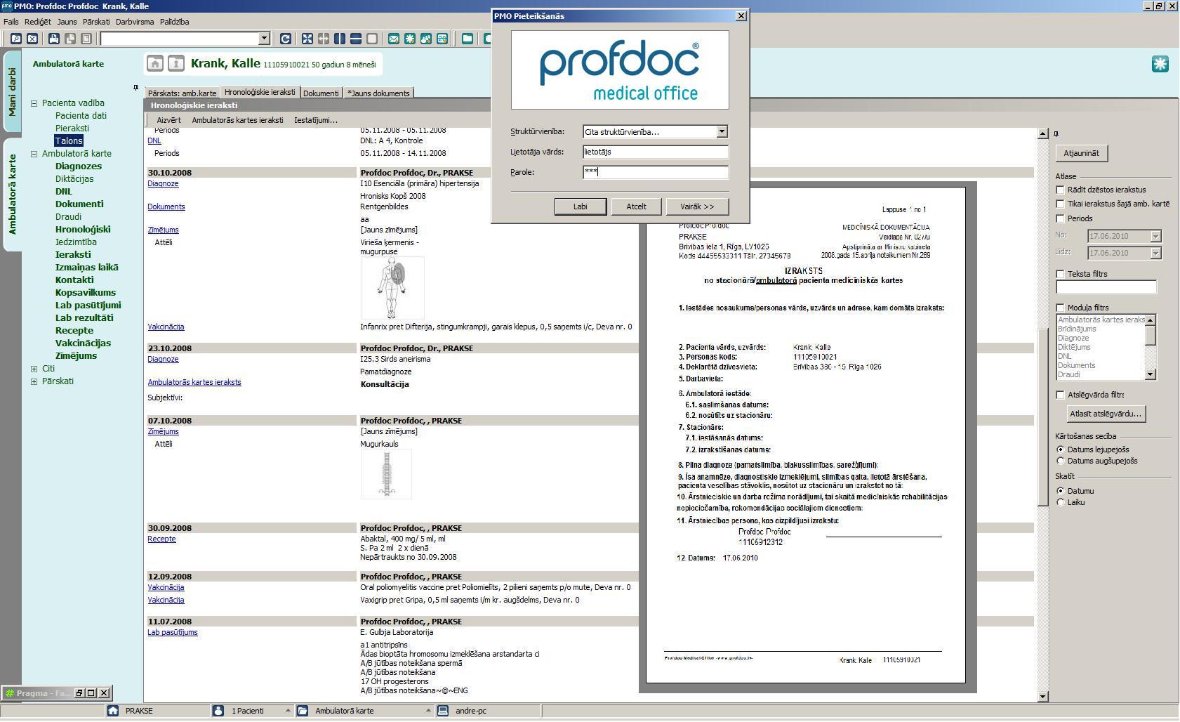 profdoc medical office